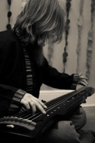 BC on guqin 古琴 for Redolent Spires promo shoot | 2012 Diwas Photography