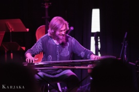 BCG on guqin zither w/ Brothers Grimm @ Color Field Contemporary Music Festival | Photo by Aleksandr Karjaka